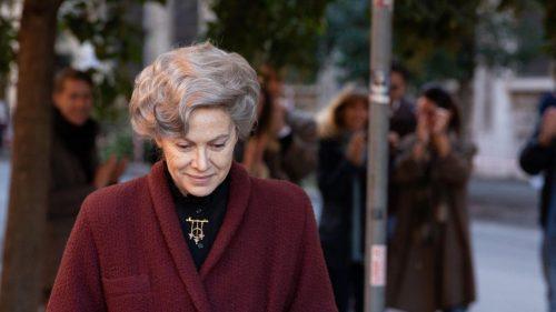 La bravissima Elena Sofia Ricci nei panni della Professoressa Rita Levi-Montalcini