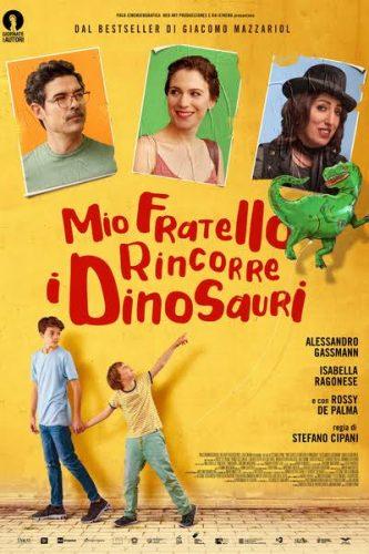 Mio fratello rincorre i dinosauri è un film del 2019 diretto da Stefano Cipani. Il film è tratto dall'omonimo romanzo di Giacomo Mazzariol