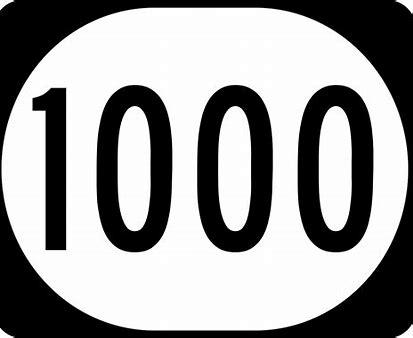 Numero 1000